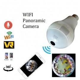 Ampul Kamera 1,3 MP 130 watt Ev İşyeri Bebek Bakıcı Güvenlik Kamerası
