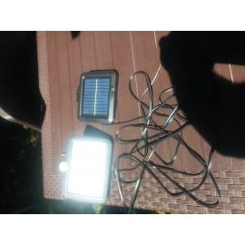 Solar Güneş Enerjili Aydınlatma 56 LED Hareket Sensörlü Lamba