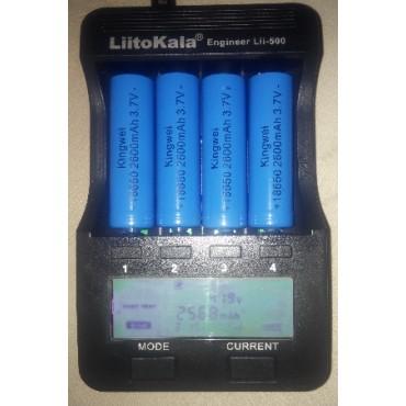 Liitokala Lii-500 18650 Kalem PİL ŞARJ ve Kapasite Ölçüm Cihazı
