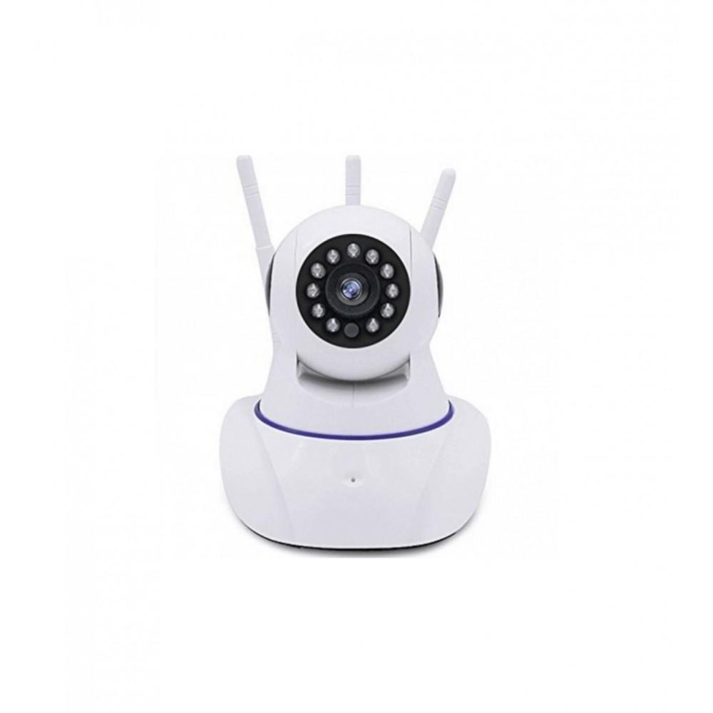 Wifi İp Güvenlik Kamerası 3 Antenli 2Mp HD Gece Görüşlü Hareket Takipli Alarmlı Yoosee Kamera