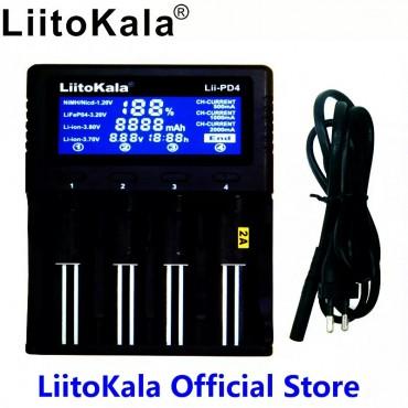 Liitokala Lii PD4 18650 Pil Şarj ve Test Cihazı Kullanım Kılavuzu Özellikleri