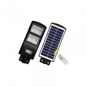 Solar Güneş Enerjili Park Bahçe Aydınlatma 60W Sürekli Devamlı Yanan 2 Modlu Uzaktan Kumandalı