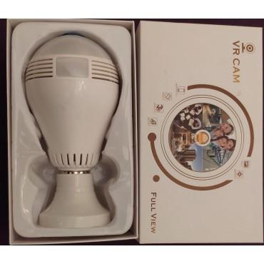 Ampul Kamera 2MP Ev İşyeri Bebek Bakıcı Güvenlik Kamerası Ampül Şeklinde