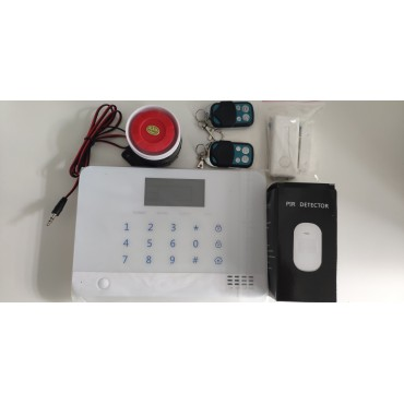 Alarm Güvenlik Seti Kablosuz Ev Ofis GSM Telefon SMS Bildirimli Android App 4G