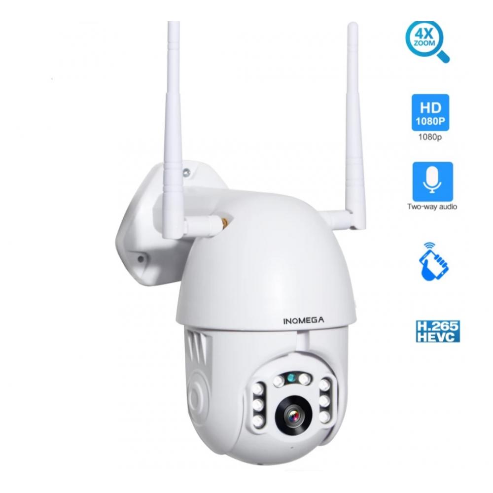 Dış Mekan Outdoor 360 derece motorlu Wifi ip güvenlik kamerası