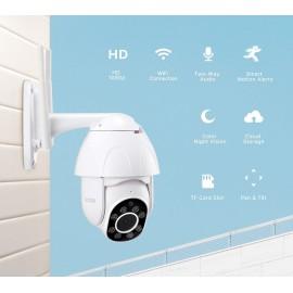 2mp Dış Mekan Motorlu Ip Kamera 1080p Speed Dome Ptz Kamera