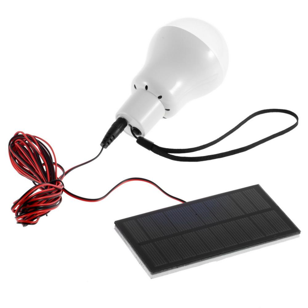 12 LED Solar Güneş Enerjili Aydınlatma Kamp Lambası Güneş Panelli