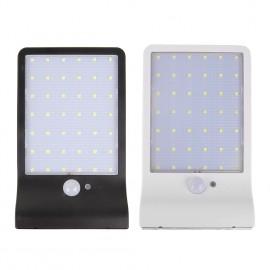 Solar Güneş Enerjili Aydınlatma 48 LED Sensörlü Lamba