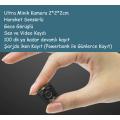 Mini Kamera Bakıcı Araç Aksiyon HD Kamera Hareket Sensörlü